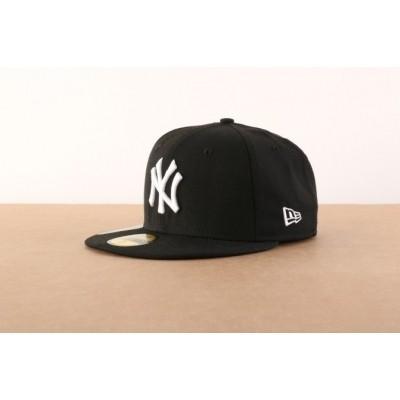 New Era 10003436 Fitted cap MLB basic NY Yankees Zwart