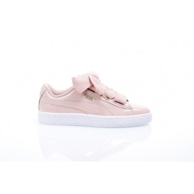 Afbeelding van Puma Ladies 363073-11 Sneakers Basket heart patent Roze