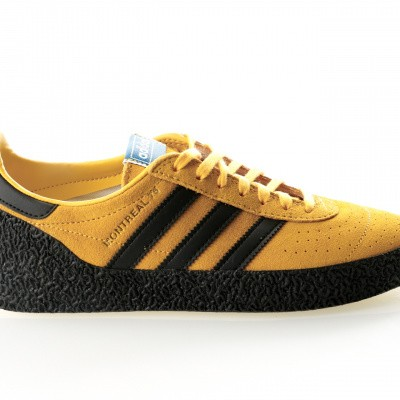 Afbeelding van Adidas MONTREAL 76 BD7635 Sneakers bold gold/core black/cream white