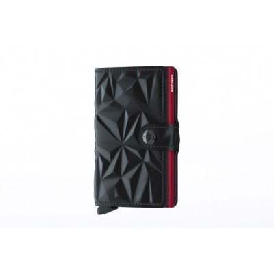 Afbeelding van Secrid M-BLACK/RED Wallet Miniwallet prism Black/red