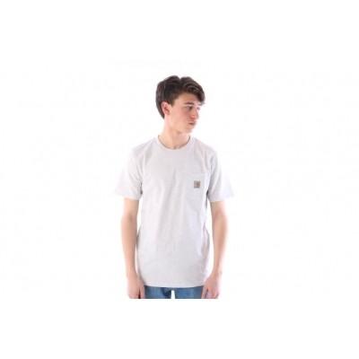 Carhartt WIP I022091-48200 T-shirt Pocket Grijs