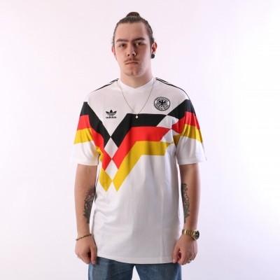 Afbeelding van Adidas Originals CE2343 Jersey Germany Wit