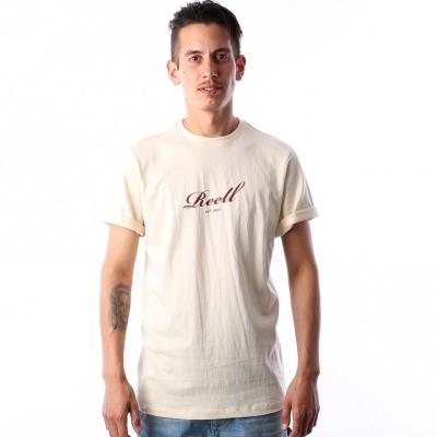 Reell T-Shirt Script T-Shirt 1301-015 170 Light Yellow