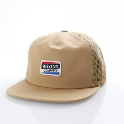 Brixton 00877 Trucker cap Worden mesh Bruin
