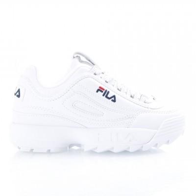 Fila Ladies 1010302-1FG Sneakers Disruptor low White