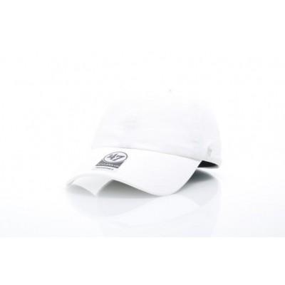 Afbeelding van 47 Brand BL-GW00GWSNL-WH Dad cap Classic '47 clean up Wit