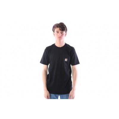 Afbeelding van Carhartt WIP I022091-8900 T-shirt Pocket Zwart