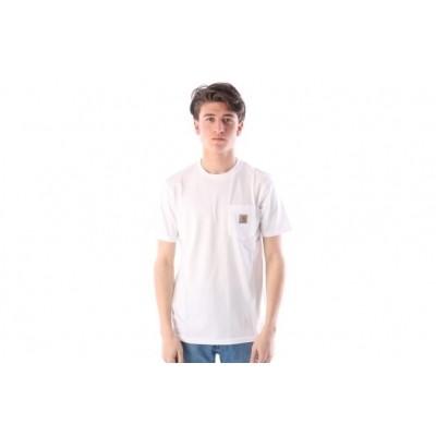 Afbeelding van Carhartt WIP I022091-0200 T-shirt Pocket Wit