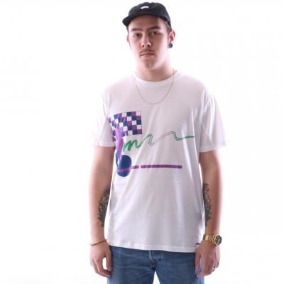 Diadora 502.161.677-20002 T-shirt Smash Wit