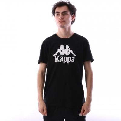 Kappa 303LRZ0-005 T-shirt Authentic estessi Zwart
