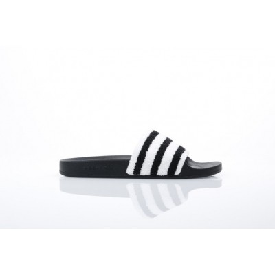 Afbeelding van Adidas Originals BB0125 Slide sandal Adilette Zwart