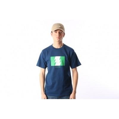 The Hundreds X Carrots By Anwar L17W301001 T-shirt Anwar wild fire Blauw