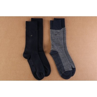 Levi's Bodywear 943006001-824 Socks 168SF regular cut stripe 2-pack Blauw
