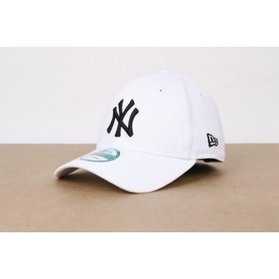 Afbeelding van New Era 10745455 Dad Cap 9Forty League Basic Ny Yankees Wit