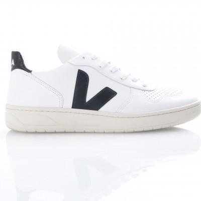 Afbeelding van Veja VX020005 Sneakers V-10 leather Wit