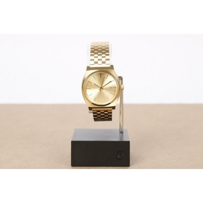 Nixon A045-511-00 Watch Time teller Goud