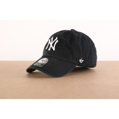 47 Brand B-RGW17GWS-BKD Dad cap Clean up NY Yankees Zwart