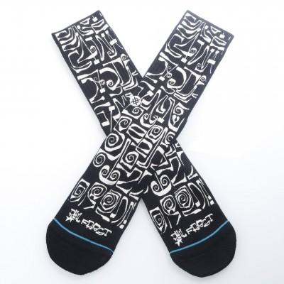 Stance M556A18FRO Socks Frost letters Zwart