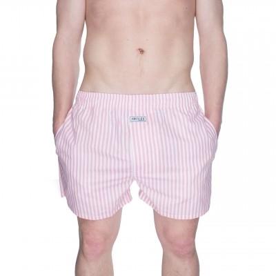 Afbeelding van Pockies Boxershort Pink Stripes Pink