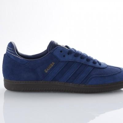 Adidas Originals CQ2089 Sneakers Samba fb Blauw