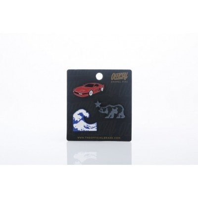 Official SS17-0011 Pins Icon pin Zwart