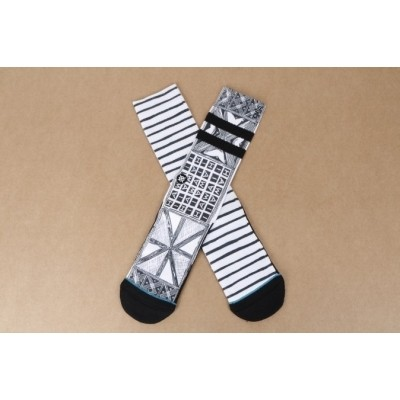 Afbeelding van Stance M556C16VIL-WHT Socks Via lopez Wit