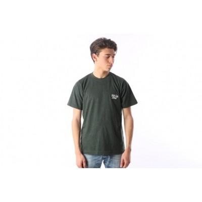 Rib.Eye.Steak RES-FW17-009 T-shirt Script Groen