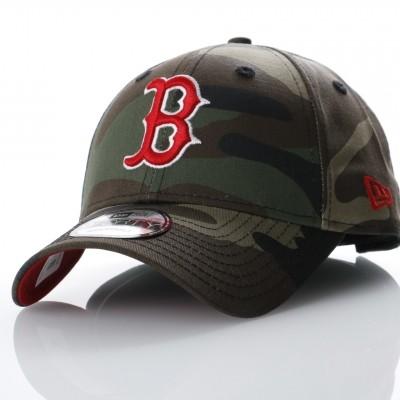 Afbeelding van New Era 80536749 Dad cap Camo team 940 Boston Red Sox Groen