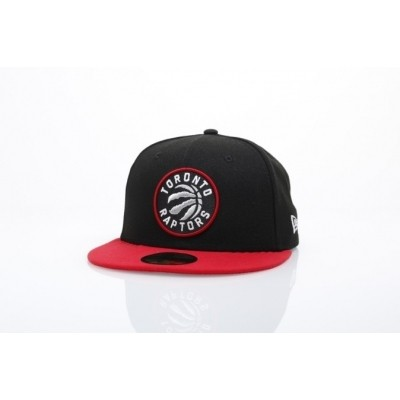 Afbeelding van New Era 11493384 Fitted Cap Nba Team 59Fifty Toronto Raptors Official Team Colors