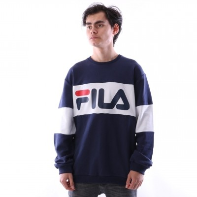 Fila 681255-J02 Crewneck Straight blocked Wit