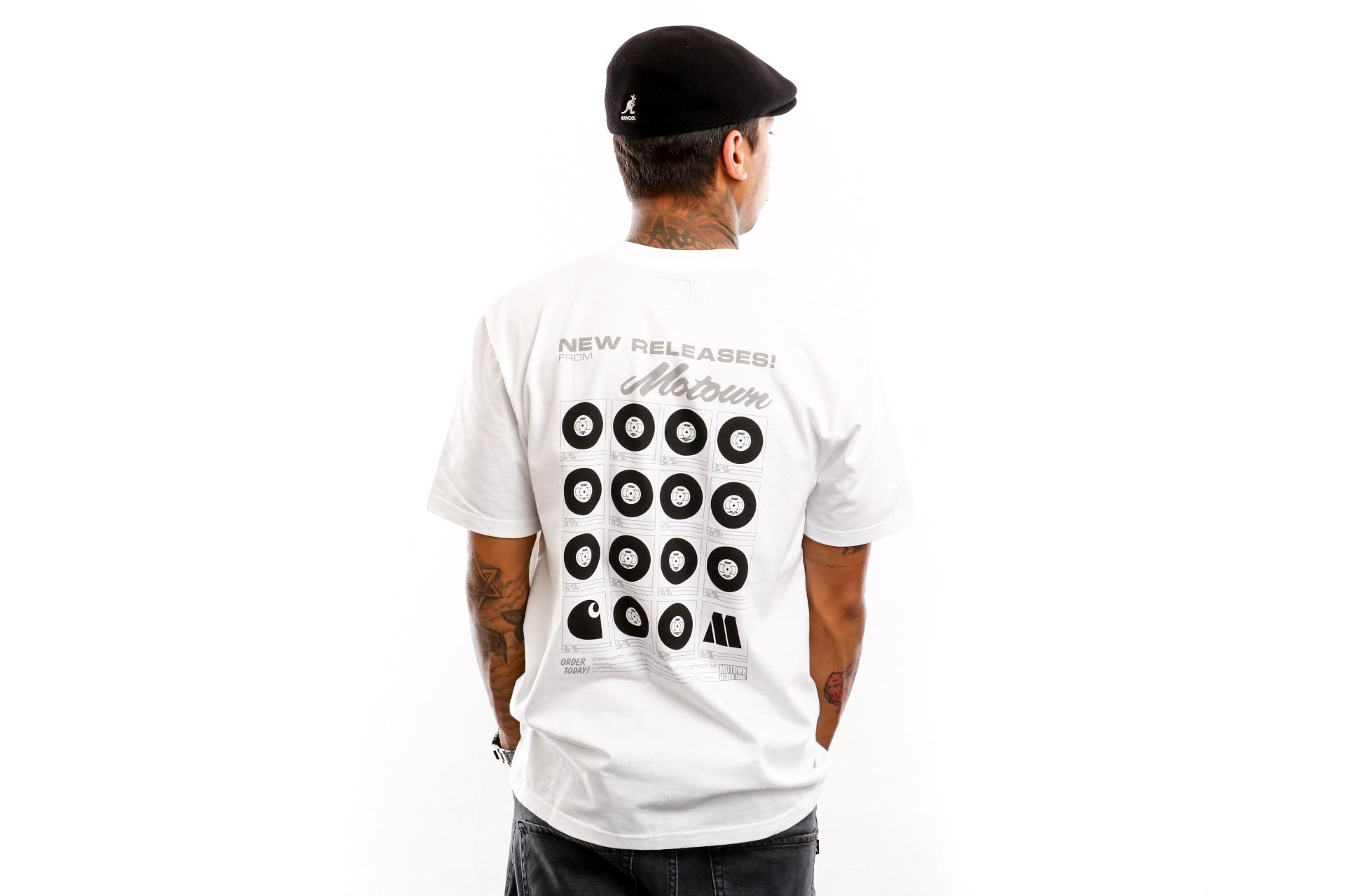 Foto van Carhartt WIP T-Shirt S/S Motown Orderform T-Shirt White I027851