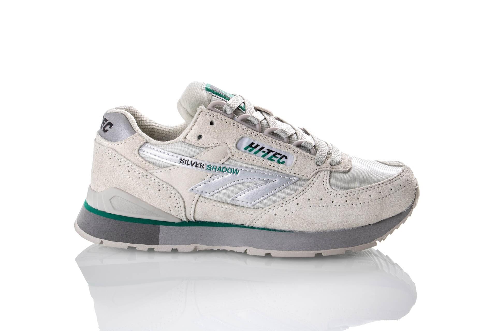 Foto van Hi-Tec SILVER SHADOW 006914 / 051 Sneakers Silver / OG Green