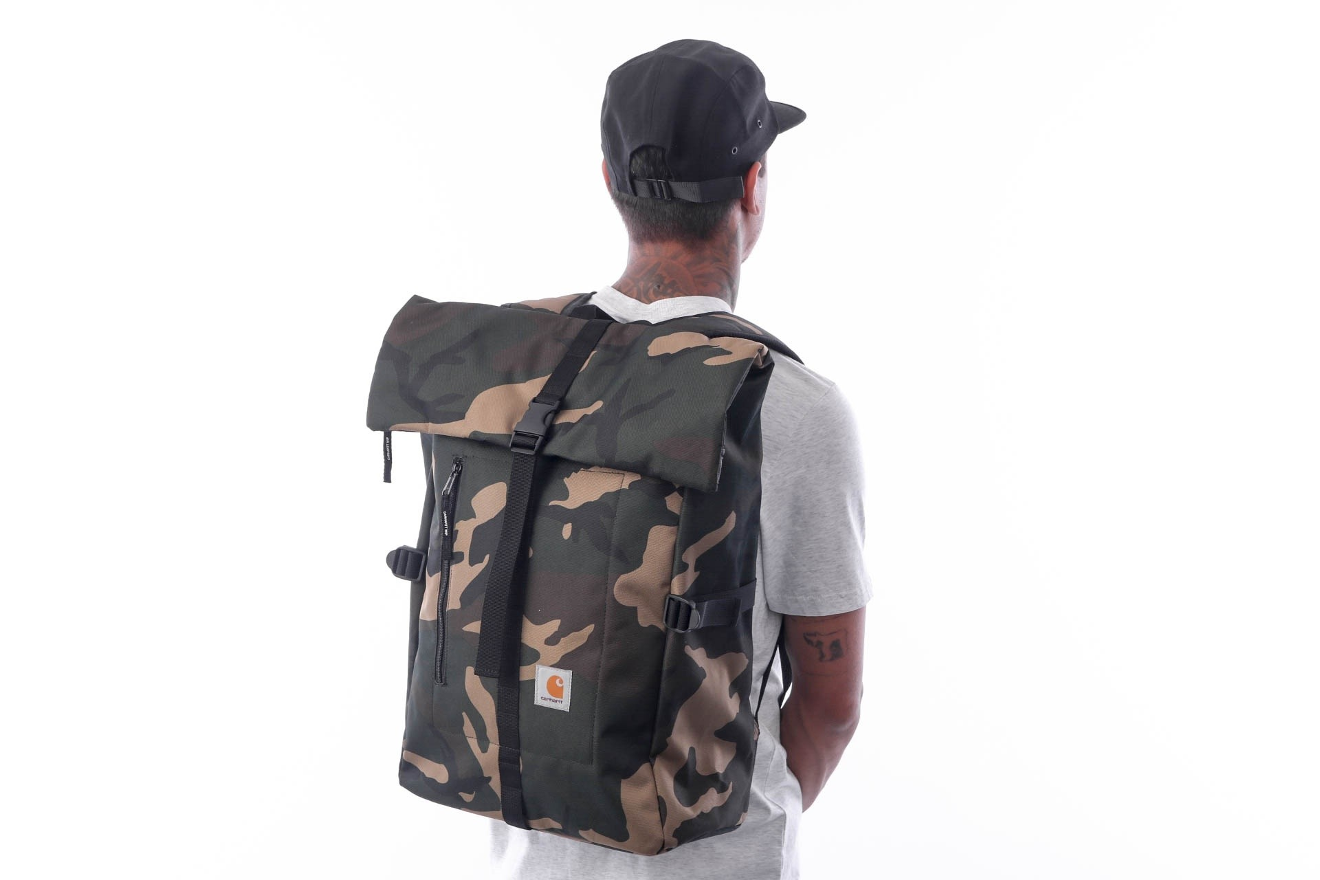 Foto van Carhartt WIP Phil Backpack I023741 Rugzak Camo Laurel