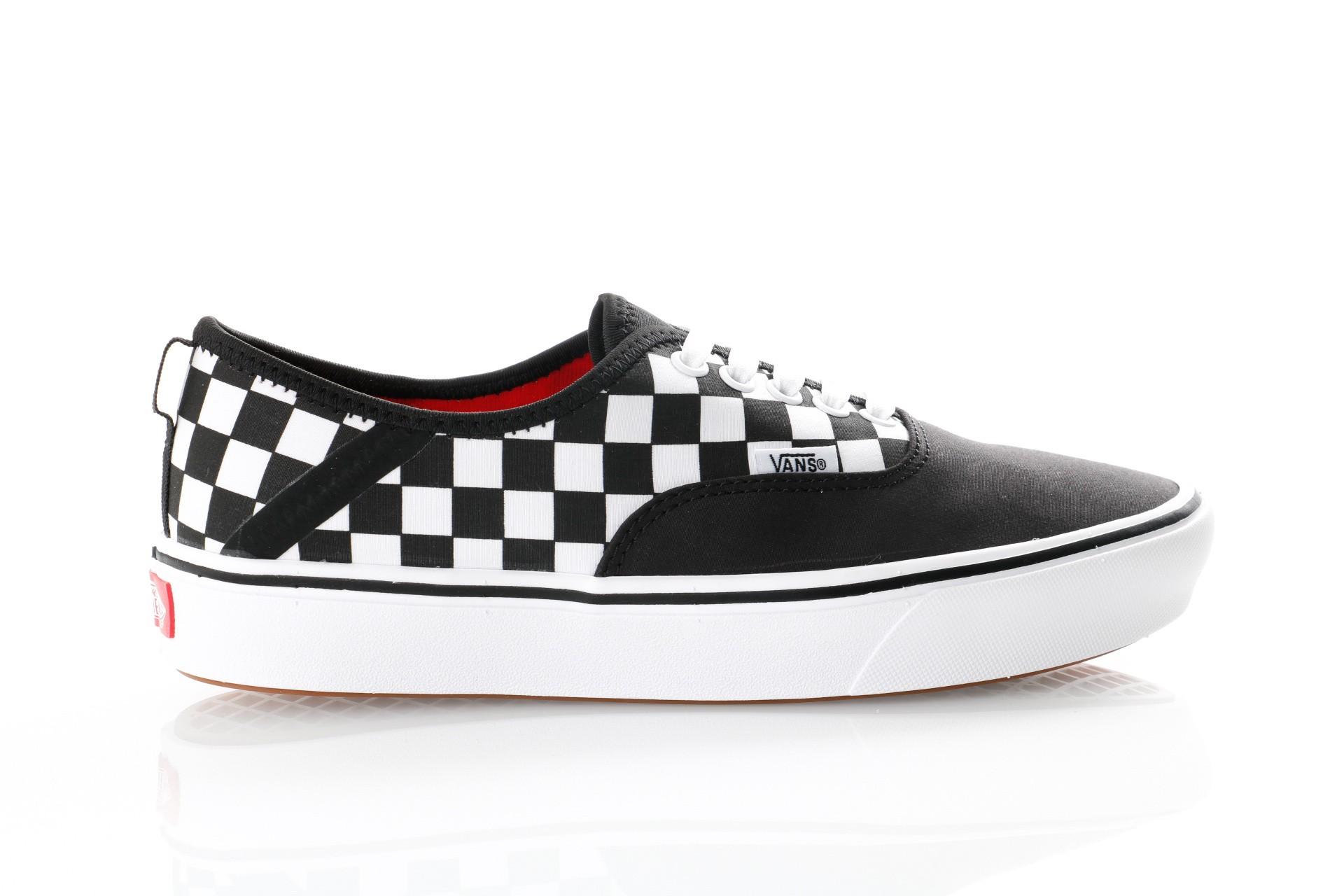 Foto van Vans UA ComfyCush Authentic SF VN0A3WM8VN8 Sneakers (2 tone) black/checkerboard
