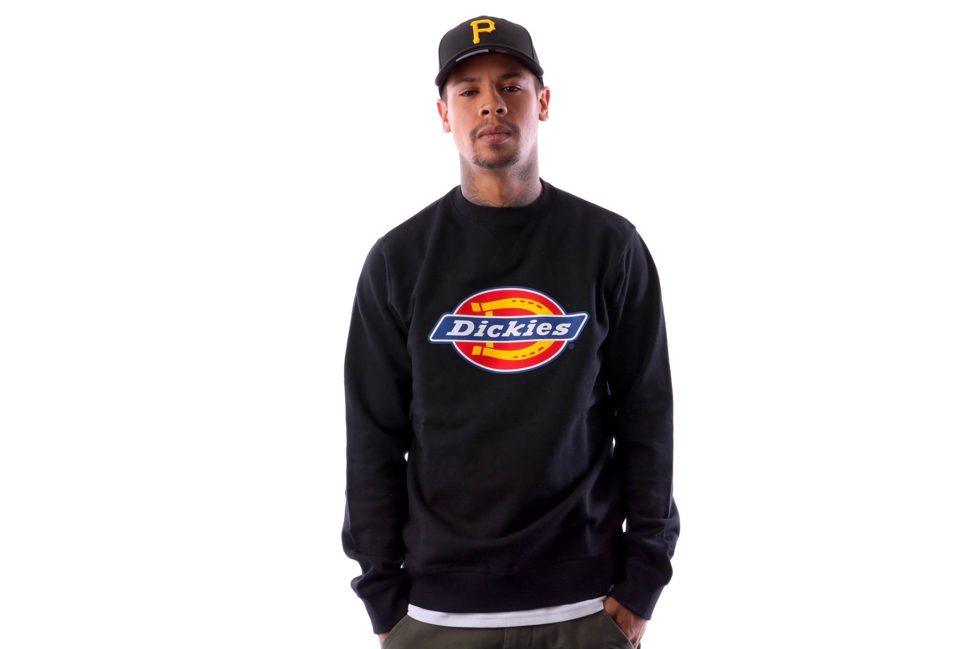 Foto van Dickies Harrison 02 200072 Crewneck Black