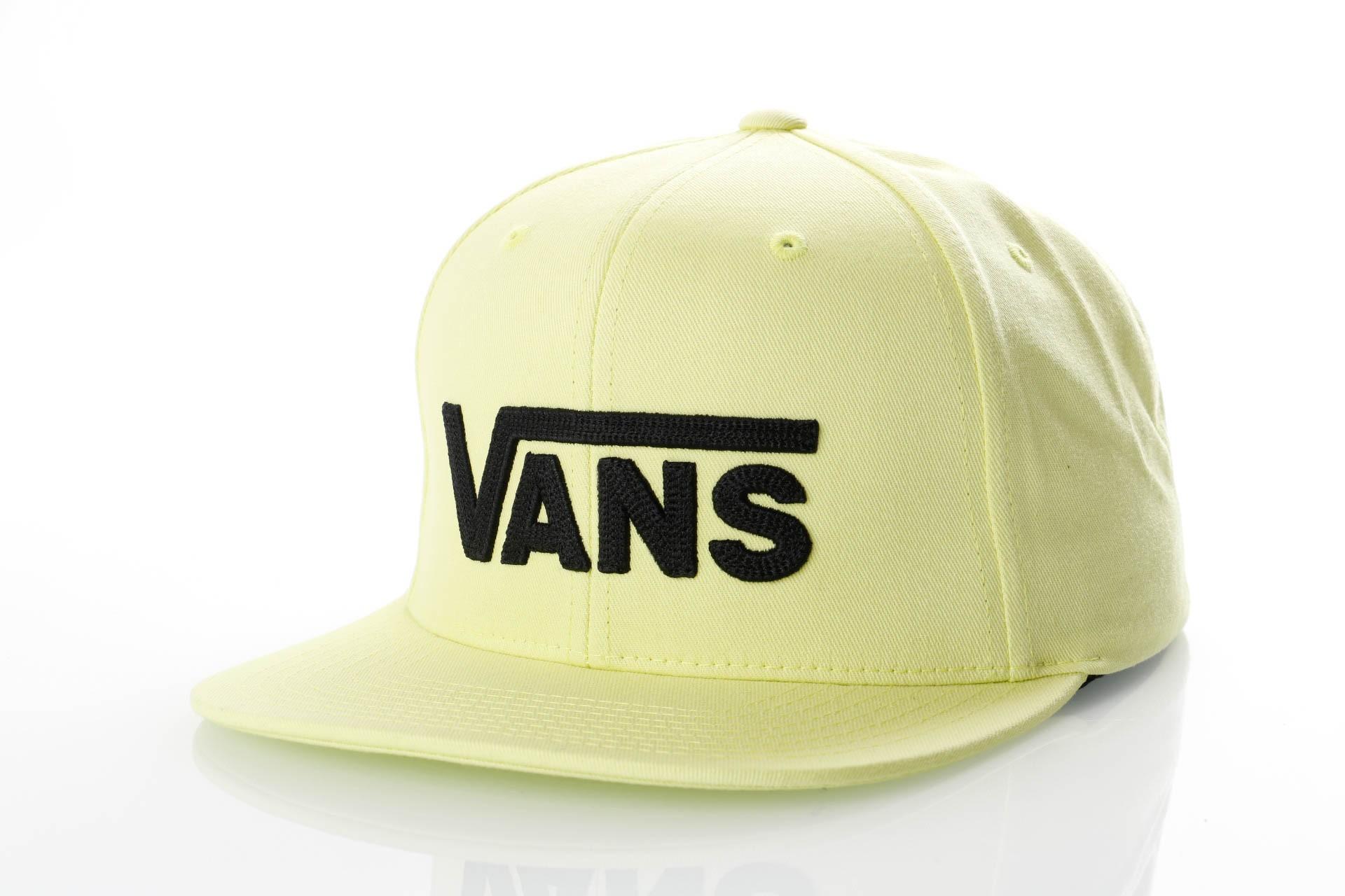 Foto van Vans DROP V II SNAPBACK VN0A36ORTCY Snapback cap SUNNY LIME