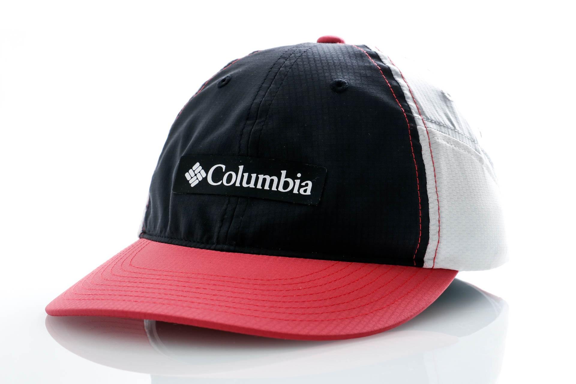 Foto van Columbia 5 Panel Cap Ripstop Ball Cap-Black, Rouge Pi Black, Rouge Pink, Cirrus Grey, White 1886811