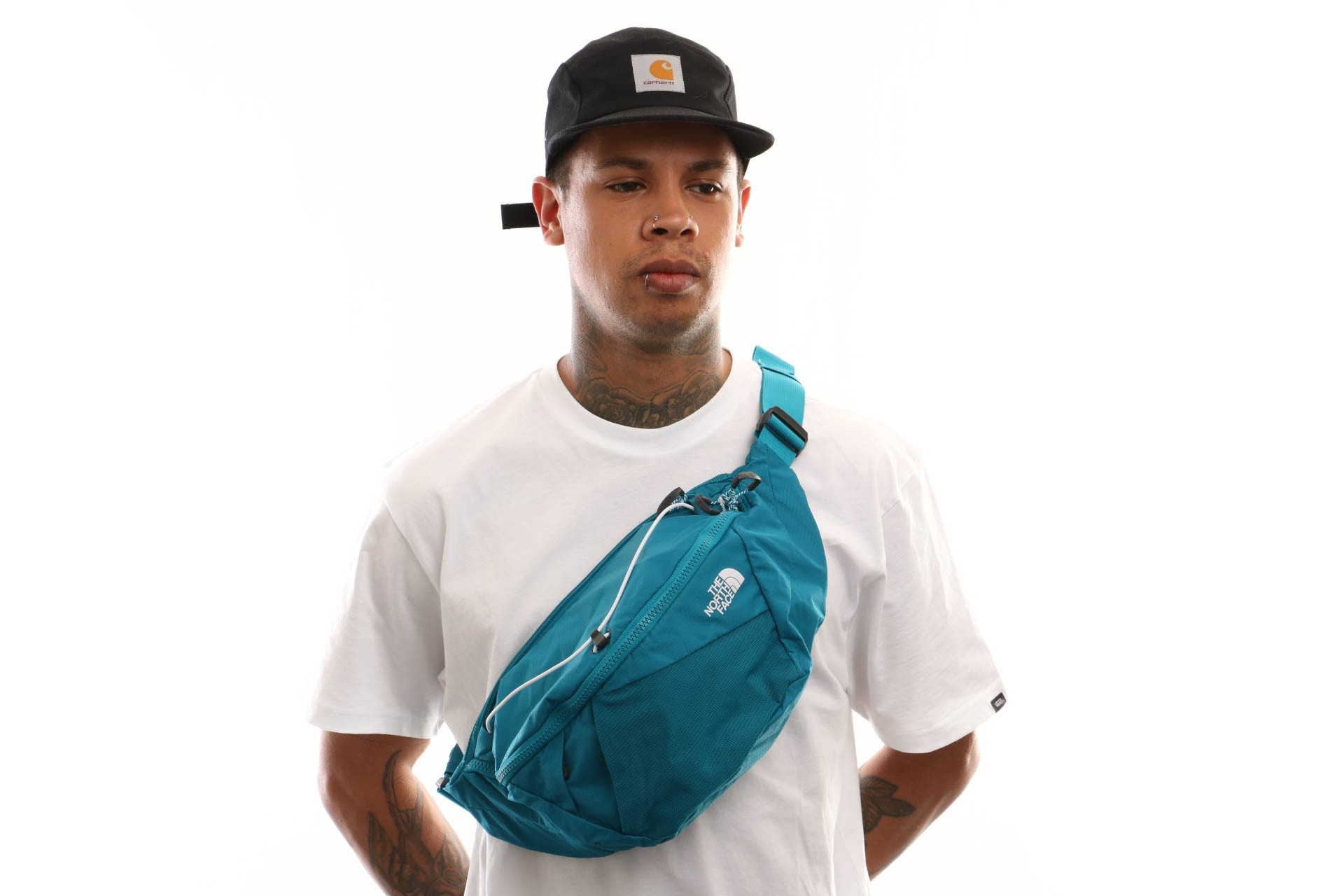 Foto van The North Face Lumbnical - L T93S7Ybg2 Heuptas Crystal Teal/Tnf White
