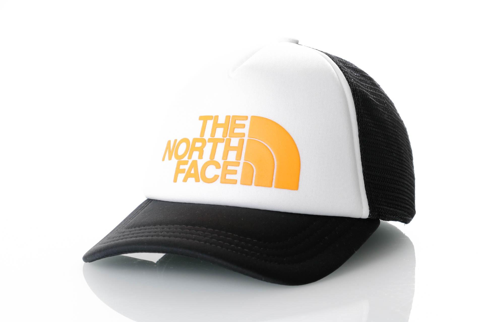 Foto van The North Face TNF Logo Trucker T93FM3CY4 Trucker Tnf White/Zinnia Orange