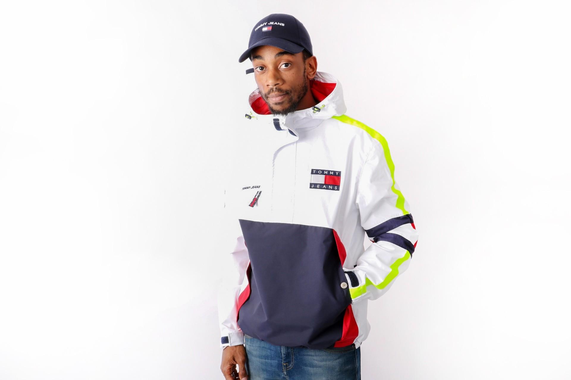 Afbeelding van Tommy Jeans 90s Sailing Jacket Bright White DM0DM04818-113