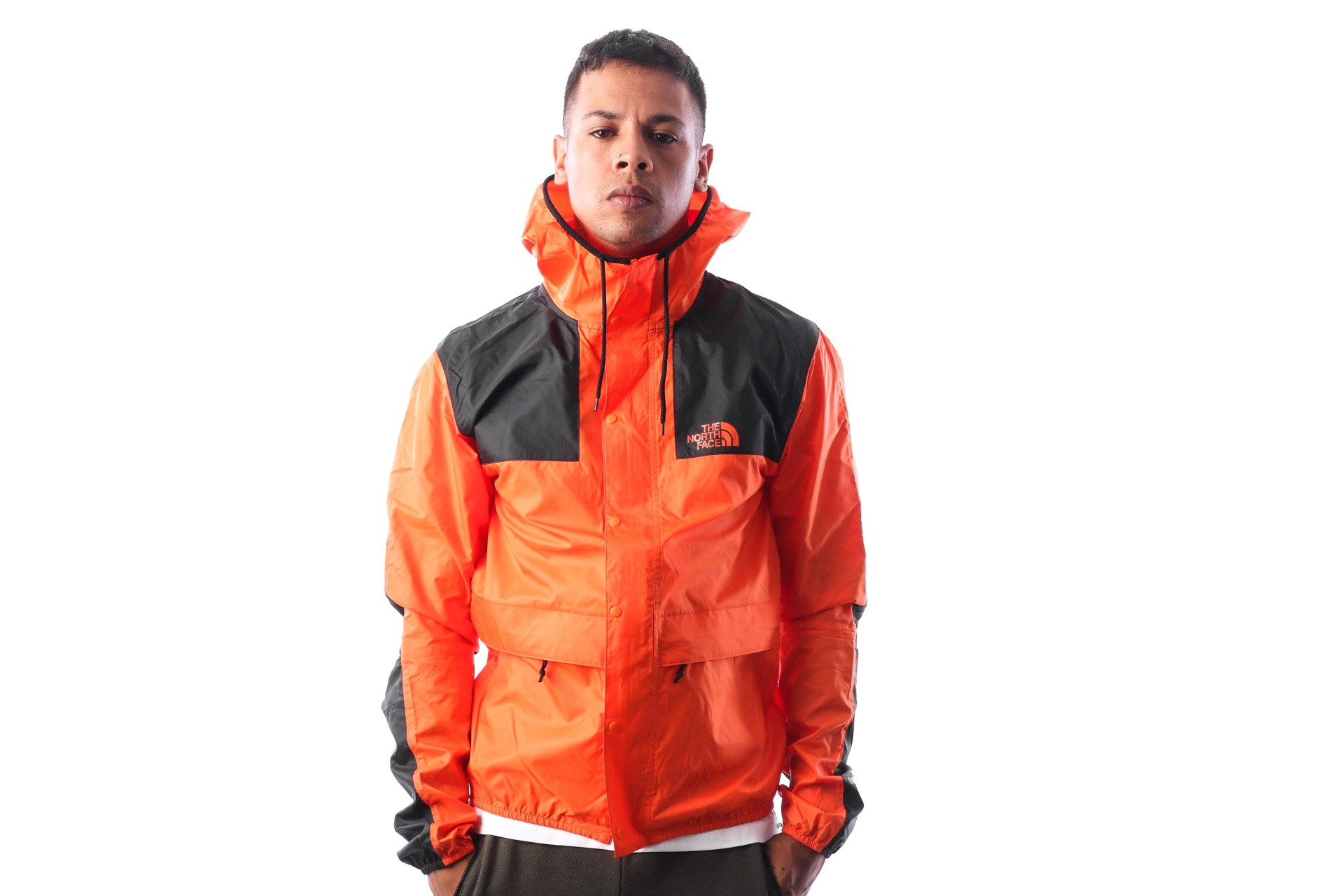 Foto van The North Face M 1985 MOUNTAIN JKT T0CH37V0W Jas PERSIAN ORANGE
