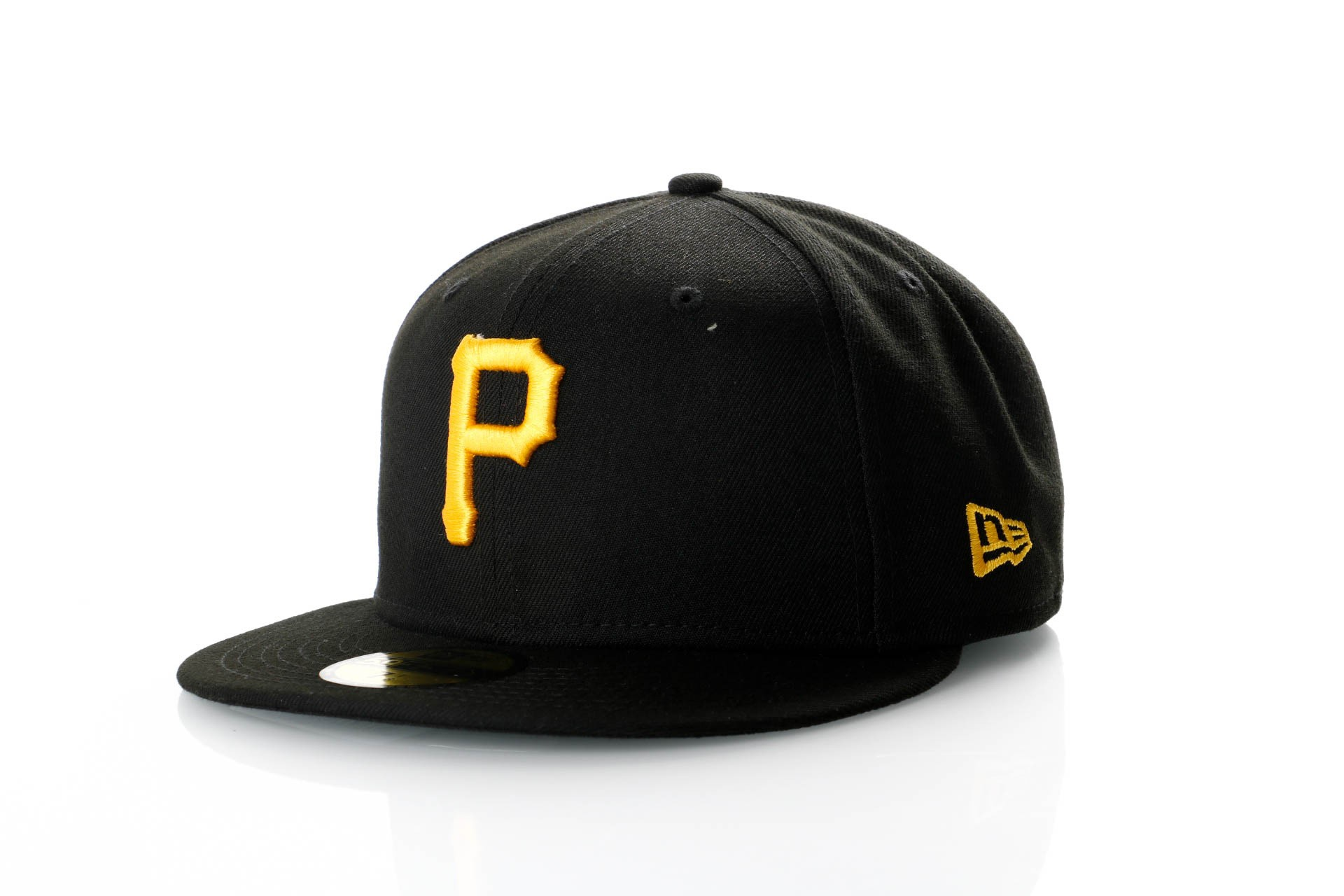 Foto van New Era Ac Perf 59Fifty 70360944 Fitted Cap Offical Team Colour Mlb Pittsburgh Pirates