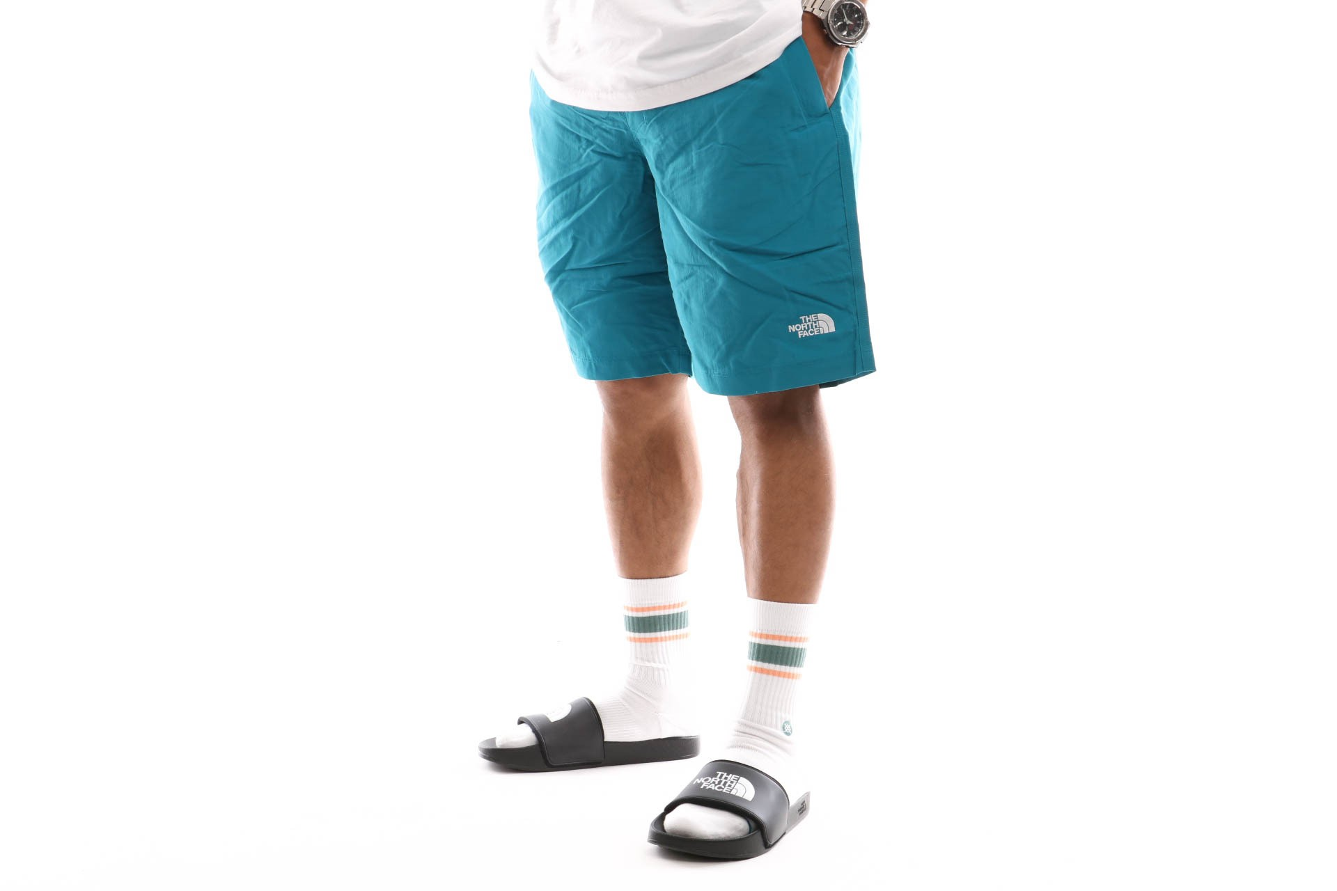 Foto van The North Face M Class V Rapids T0Cma18Ee Short Crystal Teal
