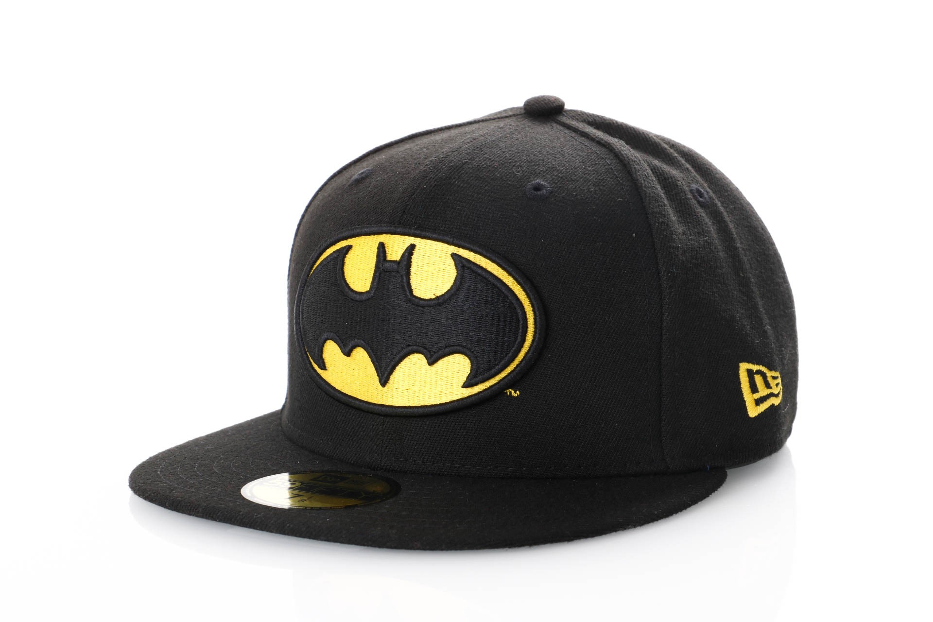 Foto van New Era Character Essential 10862338 Fitted Cap Black/Yellow Marvel