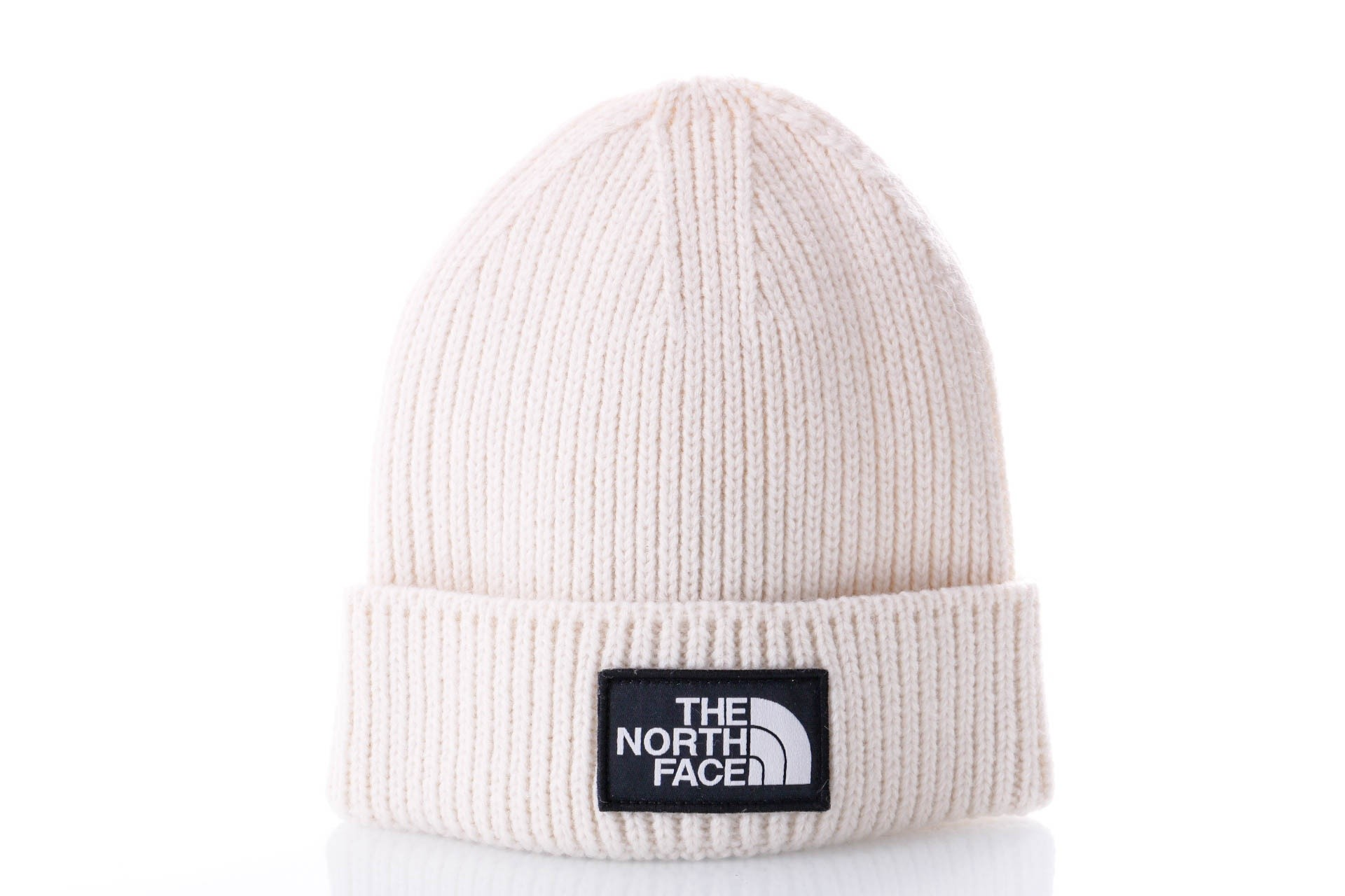 Foto van The North Face TNF LOGO BOX CUFF BE T93FJX11P Muts VINTAGE WHITE
