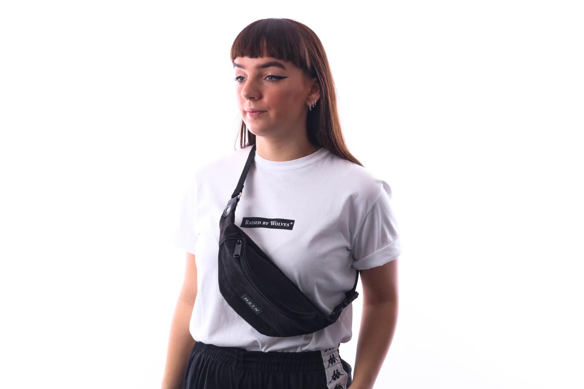 Afbeelding van HXTN Supply One Bum Bag H2035 Heuptas Cord - Black