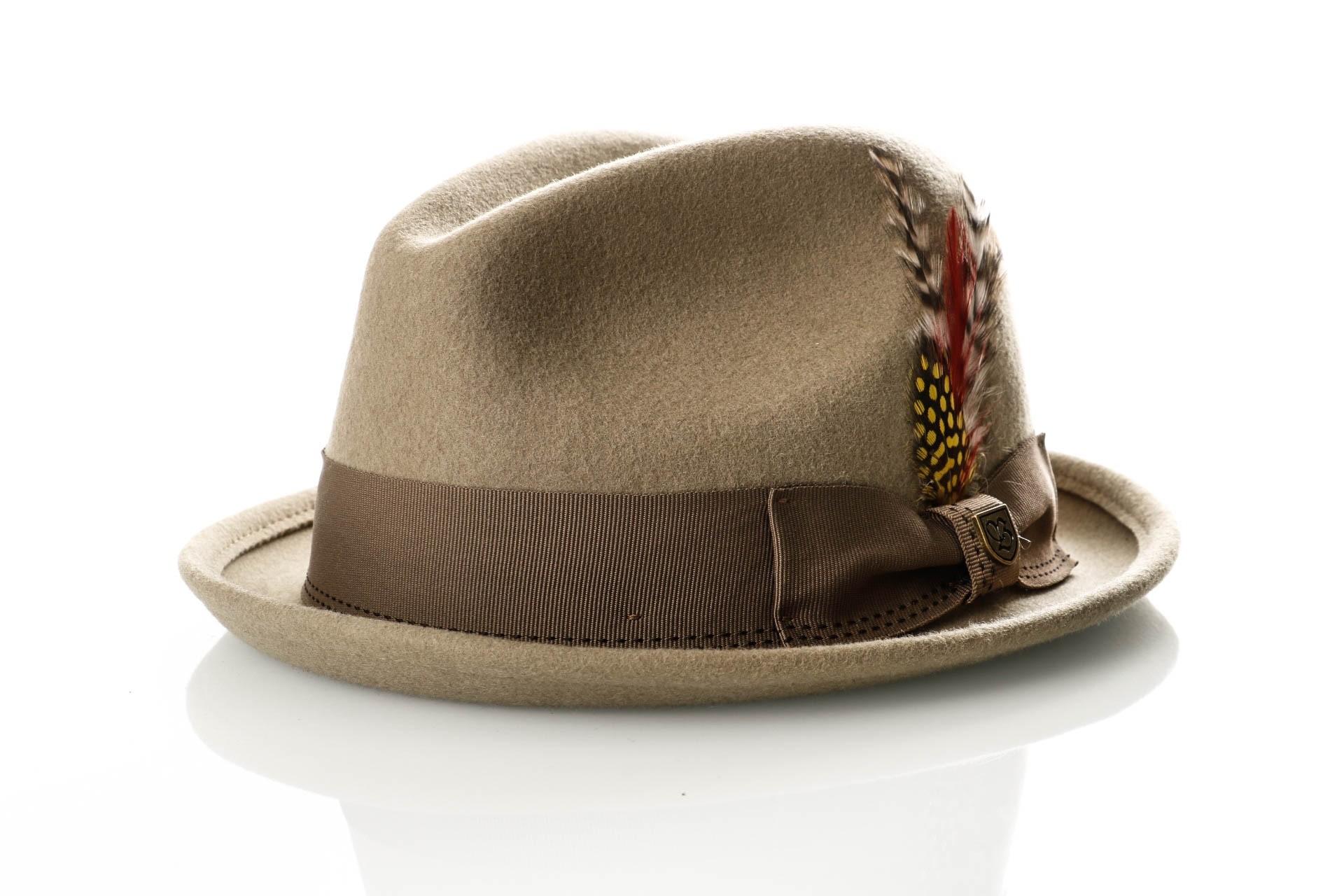 Foto van Brixton GAIN FEDORA 1 hoed KHAKI