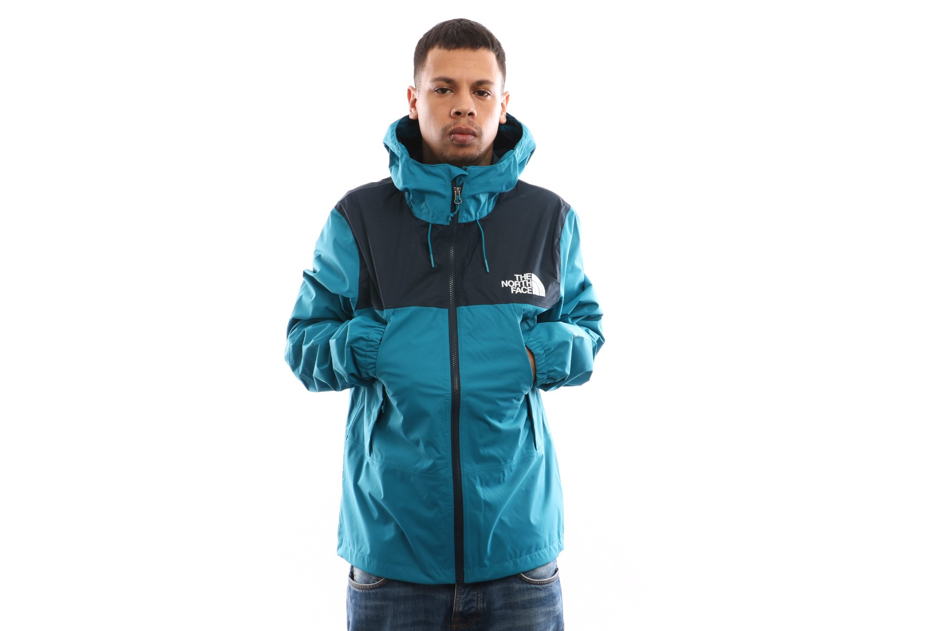 Foto van The North Face M 1990 Mnt Q Jkt T92S518EE Jas Crystal Teal