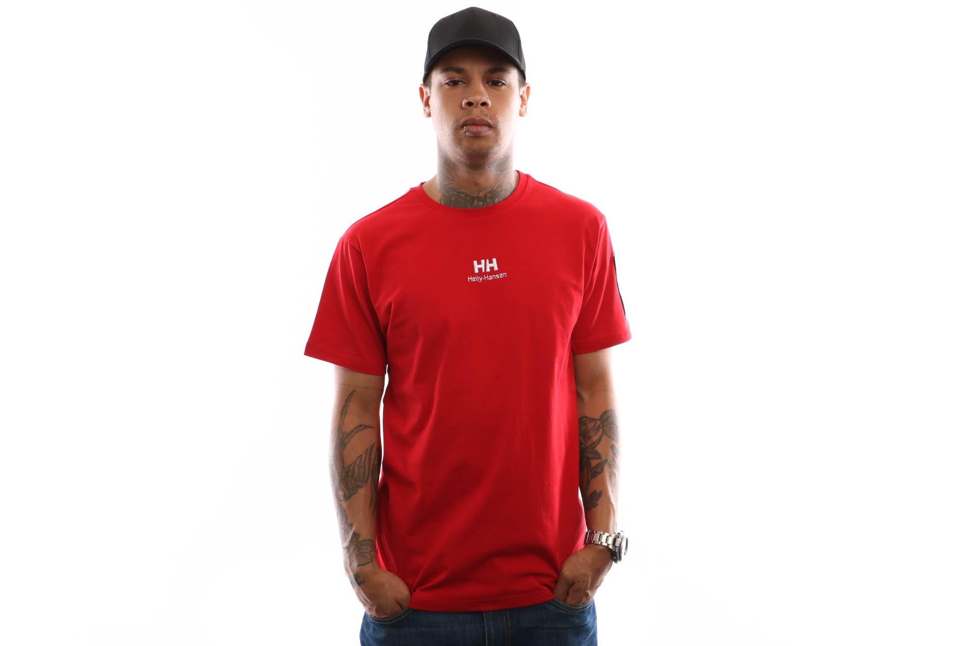 Foto van Helly Hansen Hh Urban T-Shirt 2.0 29851 T Shirt Red