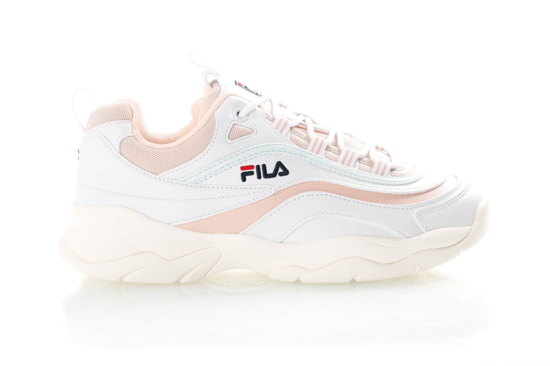 2fe70469361 Fila Ray Low Wmn 1010562 Sneakers White/Spanish Villa / Morning Mist